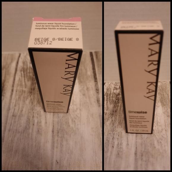 Mary Kay luminous wear liquid foundation beige 8